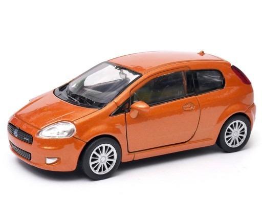 Fiat Punto Escala 1:36 Welly Naranja
