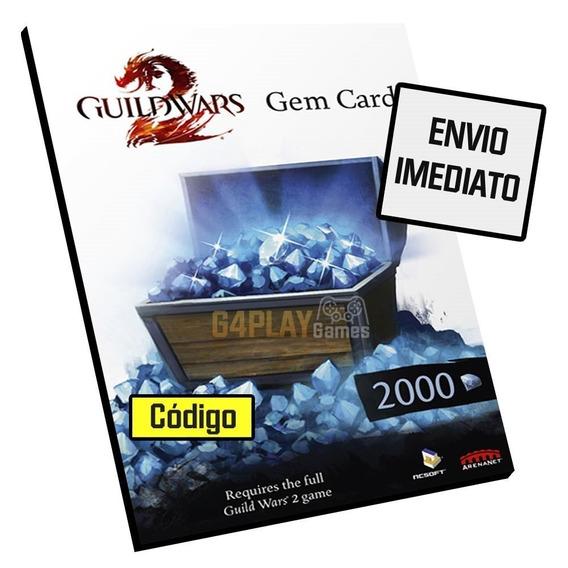 Guild Wars 2 2000 Gems Gw2 Gemas