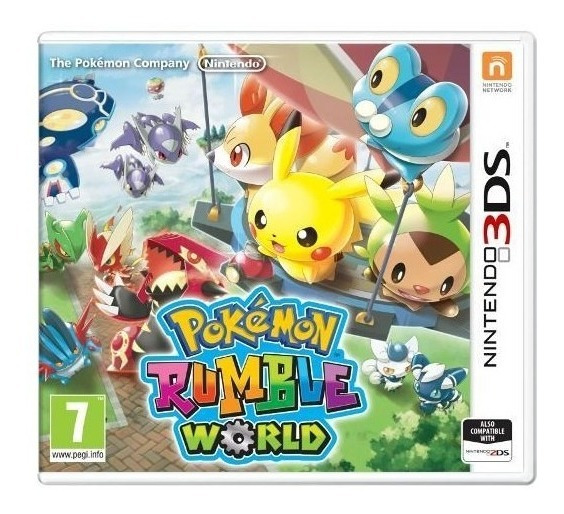 Jogo Pokemon Rumble World Para Nintendo 3ds