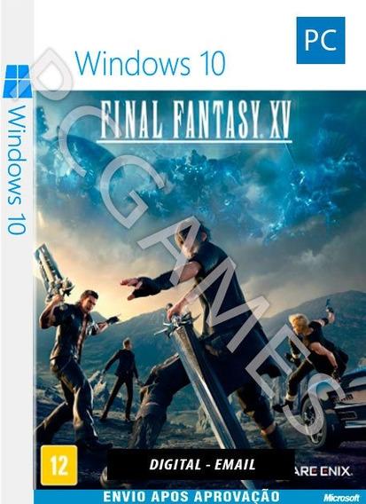 Final Fantasy Xv - Pc Windows 10 - Online