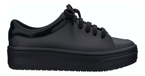 Zapatillas Sneaker Mujer Plataforma Urbana Melissa Negro