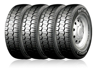 Kit X 4 Neumático Kumho 500 R12 83p Kc55 10t Cubierta Kia