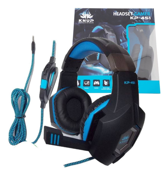 Acessório P/pc,ps4,xboxone-headset Gamer P2 Sa 451 Oferta
