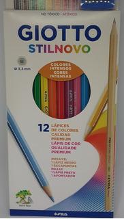 Lapiz Color X 12 Largos Giotto