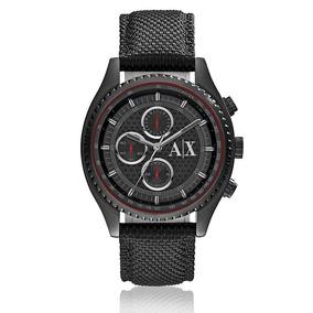 Relógio Masculino Armani Exchange Analógico Ax1610/8pn Nylon