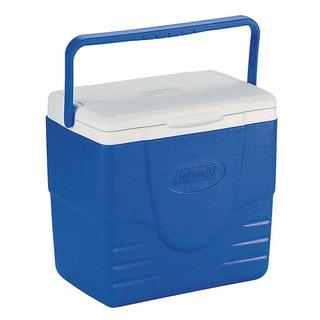 Caixa Térmica Cooler Coleman Com Tampa 22 Latas 15,1 L Azul