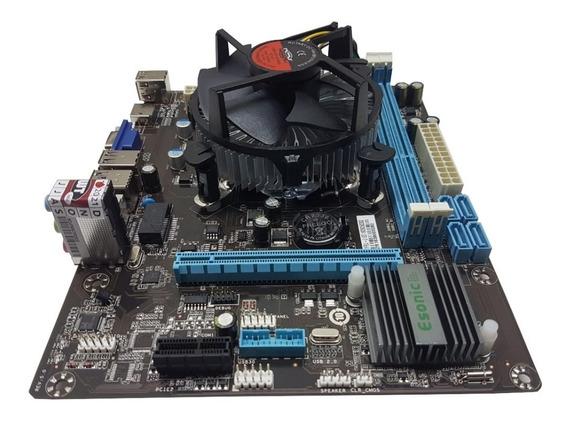 Kit Upgrade Placa Mãe + Processador I5 3.60ghz + 8gb Hyperx