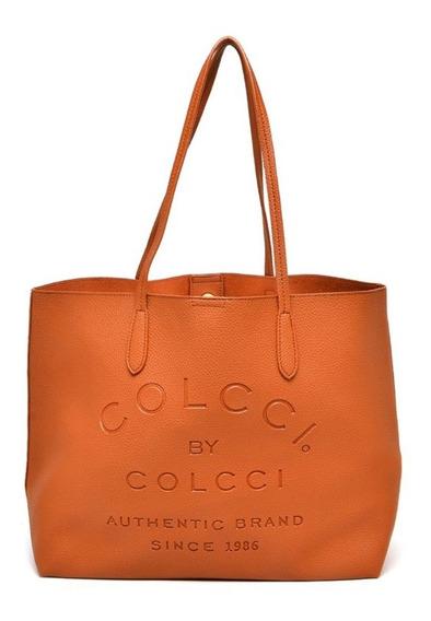 Bolsa Shopper Colcci Caramelo - Nova,Original, Com Etiqueta