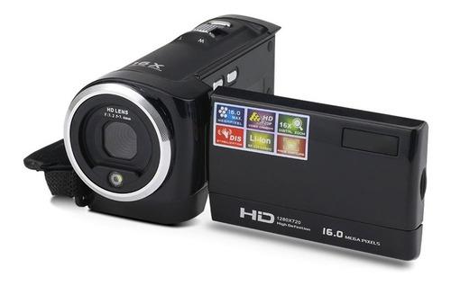 Imagen 1 de 7 de Cámara De Vídeo Videocámara Vlogging Cámara Fhd 1080p 16mp 1