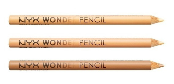 Lapis Wonder Pencil Nyx - Corretivo, Iluminador E Delineador