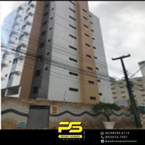 Apartamento Com 3 Dormitórios À Venda, 117 M² Por R$ 310.000,00 - Tambauzinho - João Pessoa/pb - Ap3647