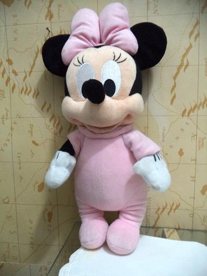 Minie Disney Pelucia Baby Linda Antiga 38 Cm