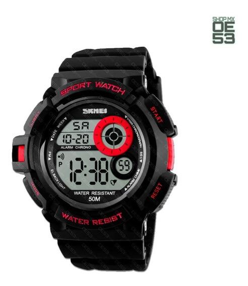 Oe53 Reloj Deportivo Resistente Al Agua Cronometro Caballero Skmei 1222 50m