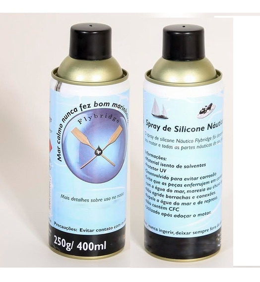 Spray De Silicone Náutico Jet Sky Flybridge - 400ml