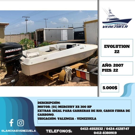 Lancha Evolution 22 Lv556