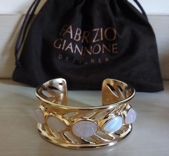 Bracelete Dourado Com Pedras - Fabrizio Giannone