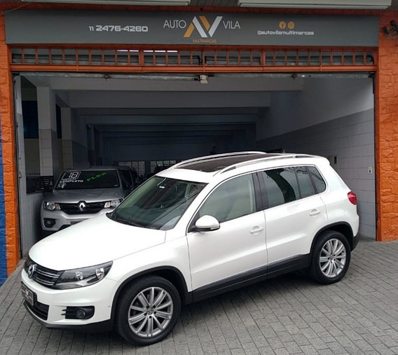 Vw Tiguan 2013 2.0 Fsi Teto Park Assist.
