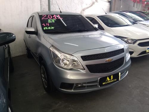 Imagem 1 de 11 de Gm Chevrolet Agile Lt 1.4 Mpfi 8v Flexpower 5p 2011
