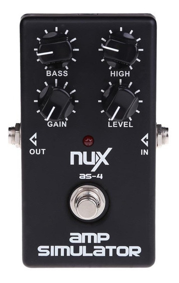Pedal Nux Modern Amp Simulator As-4
