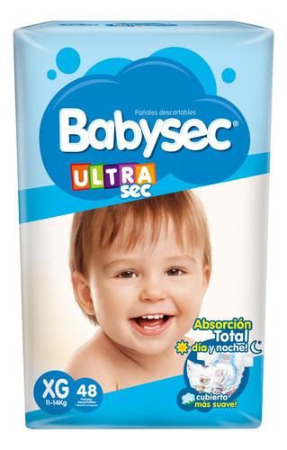 Pañalesbabysec Ultra Xg X 48 - Bebés Y Niños