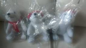 Coleção Ursos Natal Coca Cola 15 Cm
