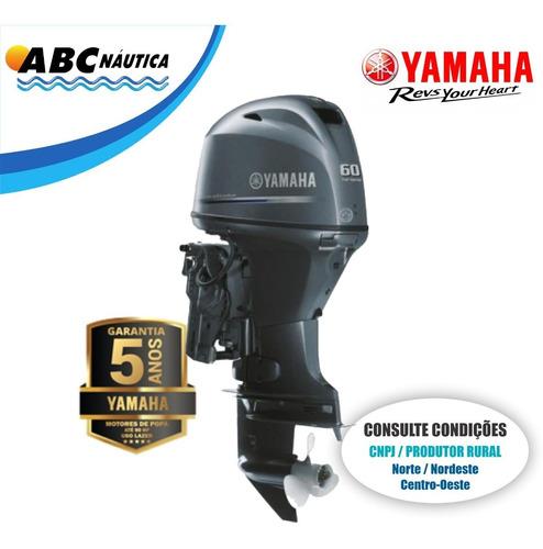 Motor De Popa Yamaha 60hp 4t  Leia Anúncio
