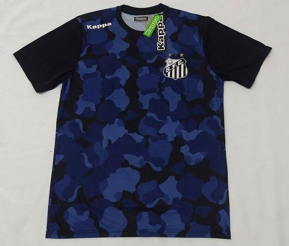 O U T L E T 139 Camisa Santos Oficial Kappa Pré Match 2016
