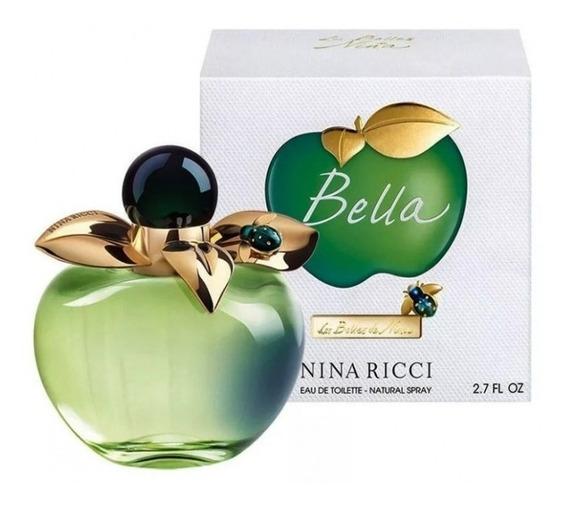 Les Belles De Nina Bella ( Verde ) 80ml Feminino + Amostra