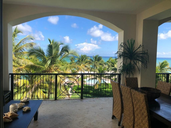 Alquiler De Hermoso Apartamento Con Vista Al Mar En Aquamarina, Cap Cana