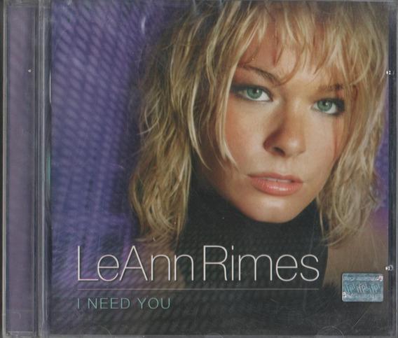 Cd Leann Rimes I Need You Feat Elton John 2011 Warner Lacrdo