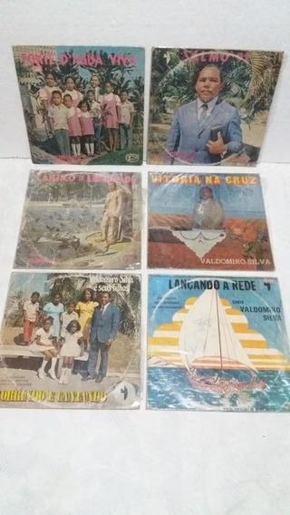 Valdomiro Silva - Coleção De 6 Discos De Vinil