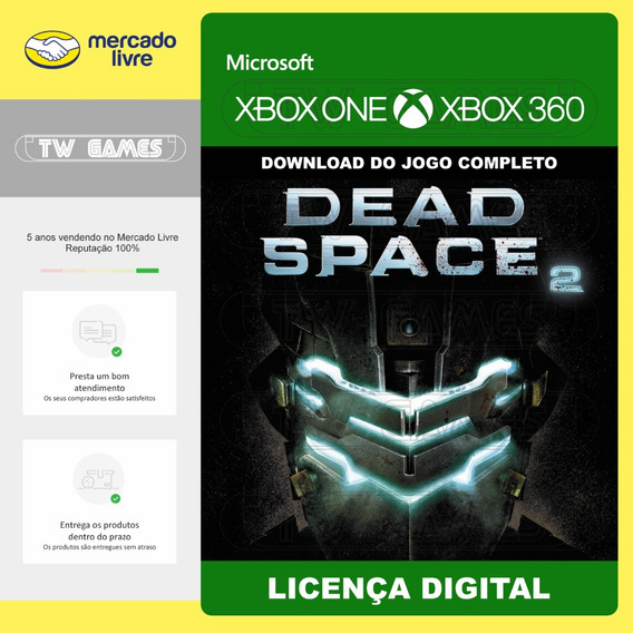 Dead Space 2 Ii Digital Retrocompativel Xbox One Xbox 360