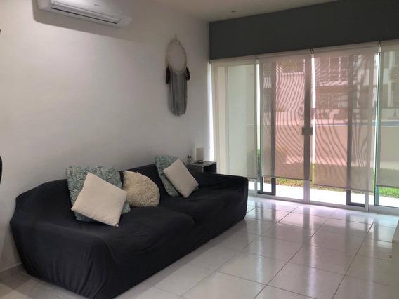 Departamento En Renta Long Island R05 Condominio Springs, Cancun