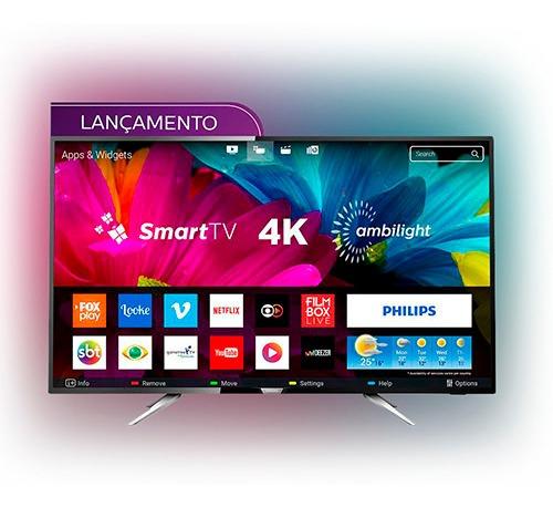 Smart Tv Led Ambilight 55 Philips 55pug6212/78 Ultra Hd 4k