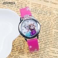 Relógio Infantil Analógico Frozen Super Barato