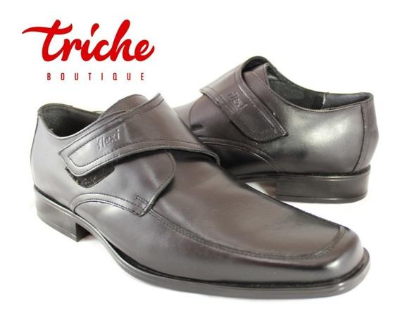 Calzado Zapato Caballero Negro Flexi 72005 Vestir Confort