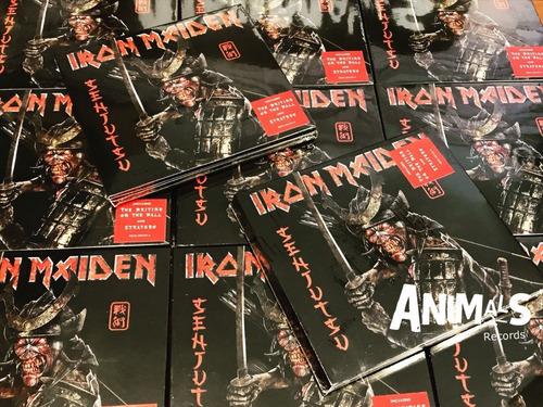 Imagen 1 de 3 de Iron Maiden Senjutsu Cd Doble 2 Cd Nuevo Original
