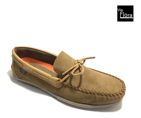 Zapatos Nauticos De Hombre Cuero Vacuno Gamuza (me/1022)