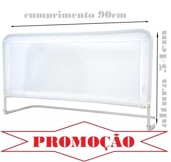 Grade De Cama Proteção Bebe E Idosos Altura 54cm Kit C/ 02 *