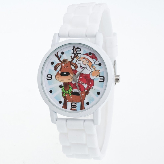 Ladies Natal Banda Silicone Relógio De Quartzo Zlf0604-d1 Br