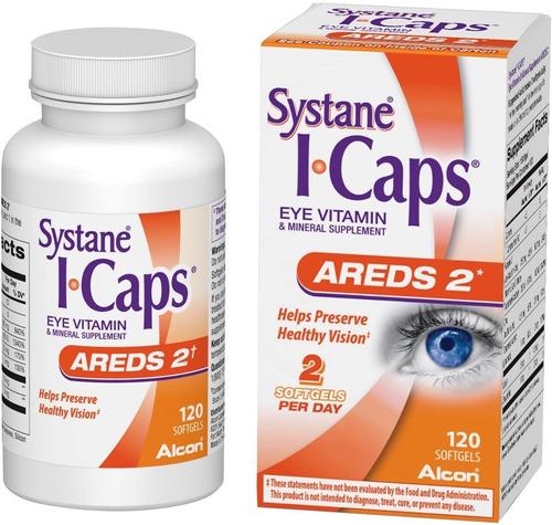 Systane Icaps Suplemento Vitamínico Y Mineral Para Ojos