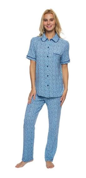 Pijama 2 Piezas Para Dama Jezebel Original Talla G