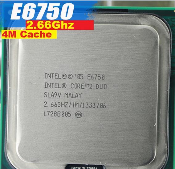 Processador Core 2 Duo E6750 2.66 Ghz 4m Cache 1333mhz 775