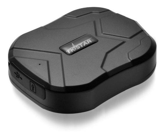 Rastreador Automotivo Tk905 Sem Fio - Configurado Com Chip Vai Funcionando App Gratuito Sem Mensalidade Entrega Imediata