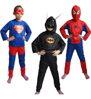 Disfraz Para Niños Super Heroes Y Princesas