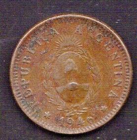Argentina 2 Centavos 1946 Oferta ( M 41) Imperdible Vea
