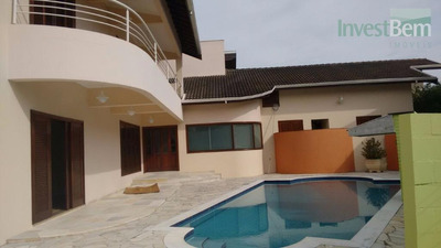 Casa Residencial Para Locação, Condomínio Residencial Portal Do Quiririm, Valinhos. - Ca0368