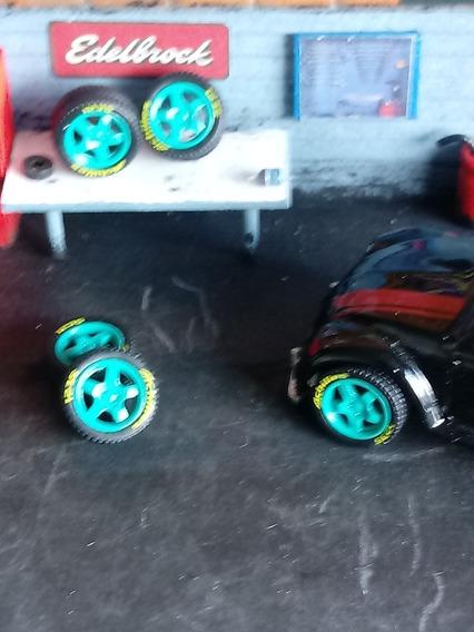 Rodas 1/64 Para Custom Hot Wheels