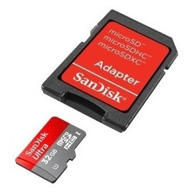 Cartâo Micro Sd 32gb Sandisk 90/ms + Adaptador Frete Gratis