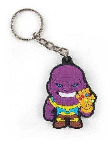 Chaveiro De Borracha Cute Thanos